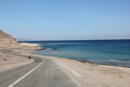 Road by the Red Sea